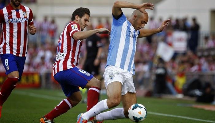 Malaga vs Atletico Madrid en vivo