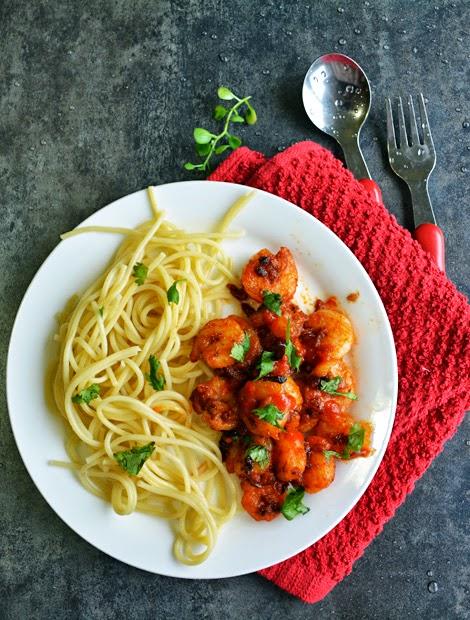Sriracha Shrimp -party appetizer Recipe