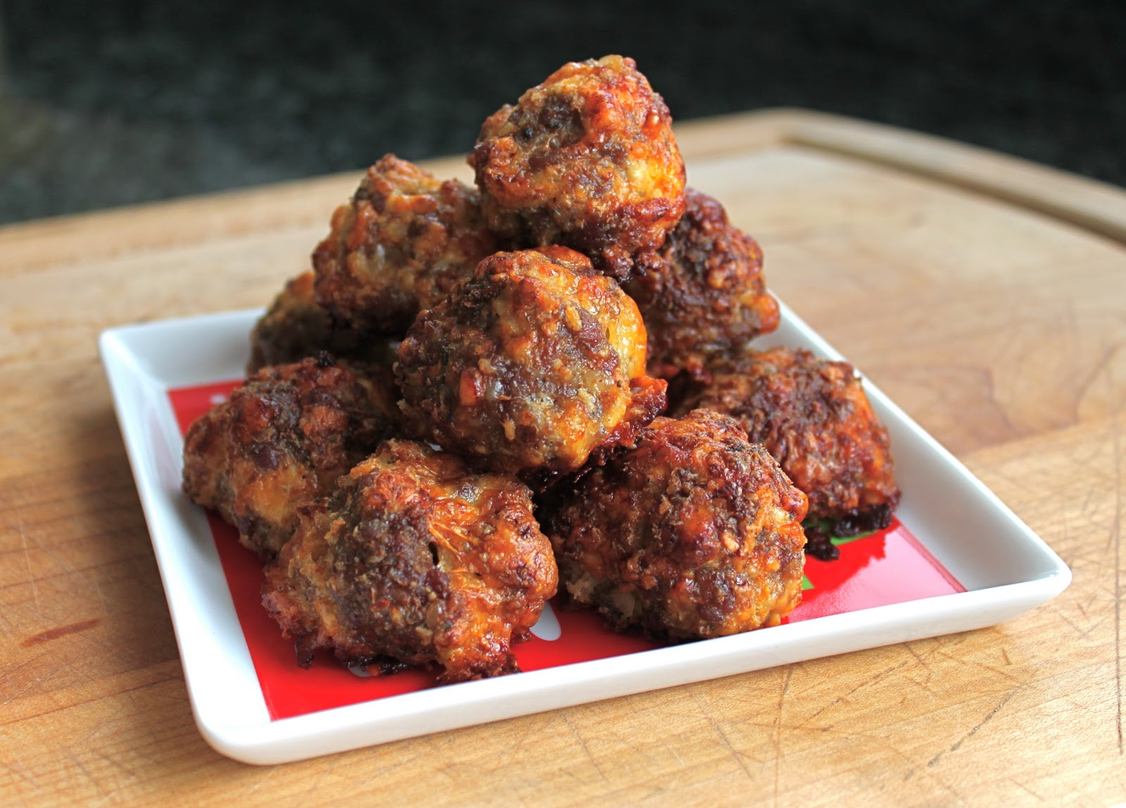 From which things grow chew on this sausage balls for Atkins cuisine baking mix