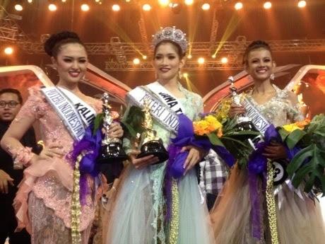 Anindya Kusuma Putri Pemenang Puteri Indonesia 2015