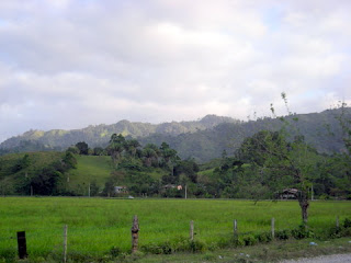 Mountains in La Masica, Honduras, near Tripoli