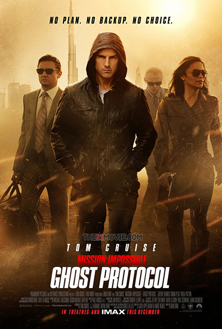 Download Movie : Mission: Impossible – Ghost Protocol (2011) BluRay