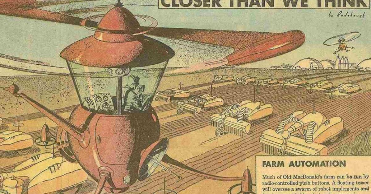 Automated Mechanized Farming in Future Farms (1963)