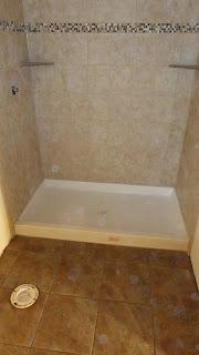 Corner Bathroom Shelf on Shower And Bath Floor With Custom Made Corner Shelves In Shower