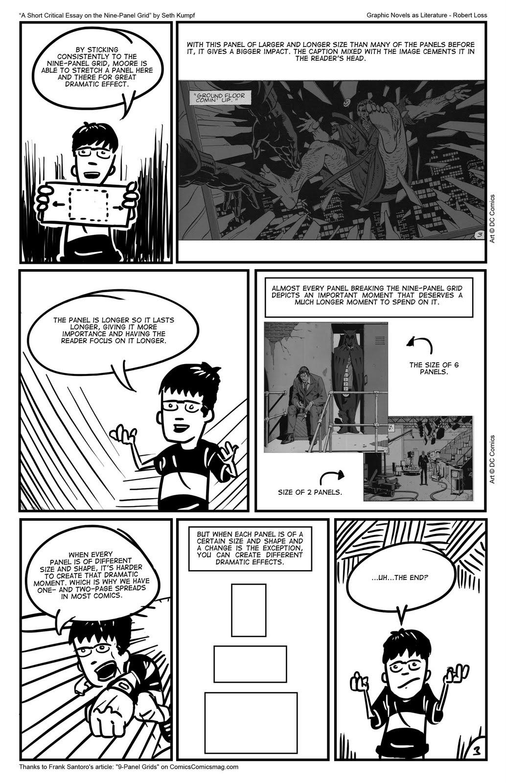 essay understanding comics