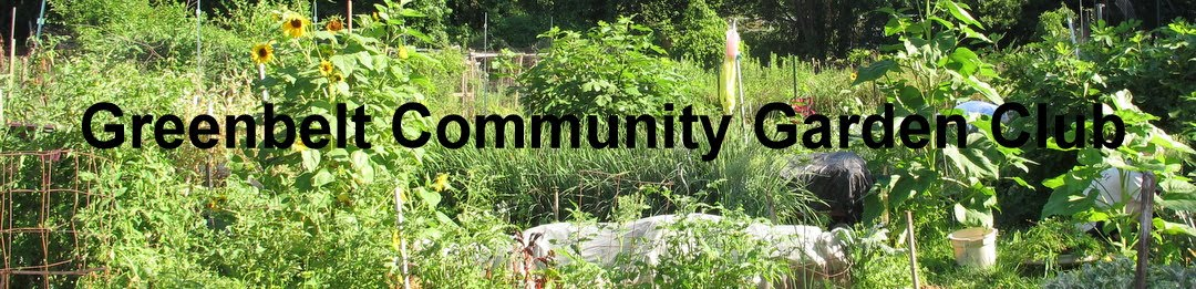 Greenbelt Community Garden Club