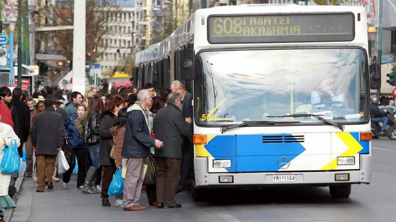 Ψεκαστήρες με αποσμητικό εγκαθιστά ο ΟΑΣΑ στα λεωφορεία της Αθήνας