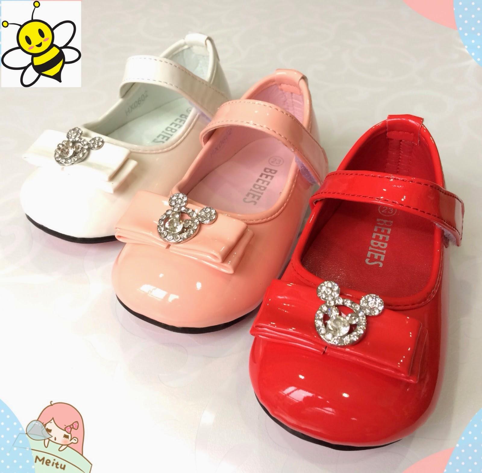 Eceran Grosir Kualitas Sepatu Anak Dan Baju Di Jakarta Sandal Balita Perempuan Slip On Bayi Cewek  Mickey House Shining Diamond Baby Shoes By Beebies
