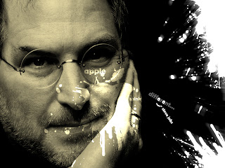 Steve Jobs Quote Tribute Design HD Wallpaper 2012