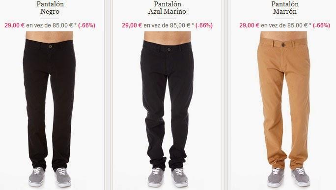 Pantalones para hombre por menos de 30 euros