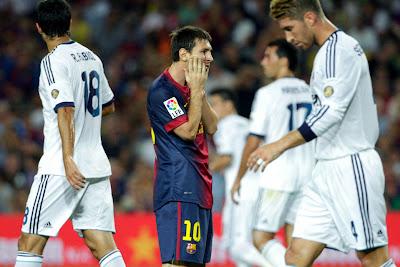 Real Madrid se proclamó campeón de la Supercopa española 2012 (Goles)