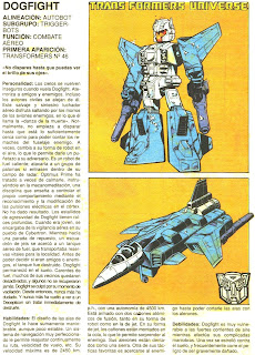 Dogfight (ficha transformers)