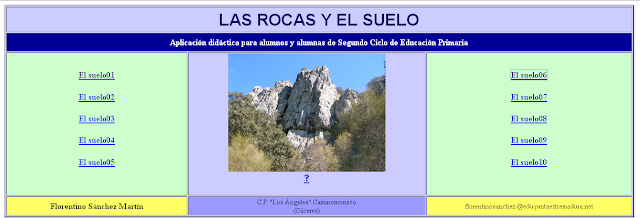 http://cplosangeles.juntaextremadura.net/web/cmedio3/rocasysuelo/indice.htm