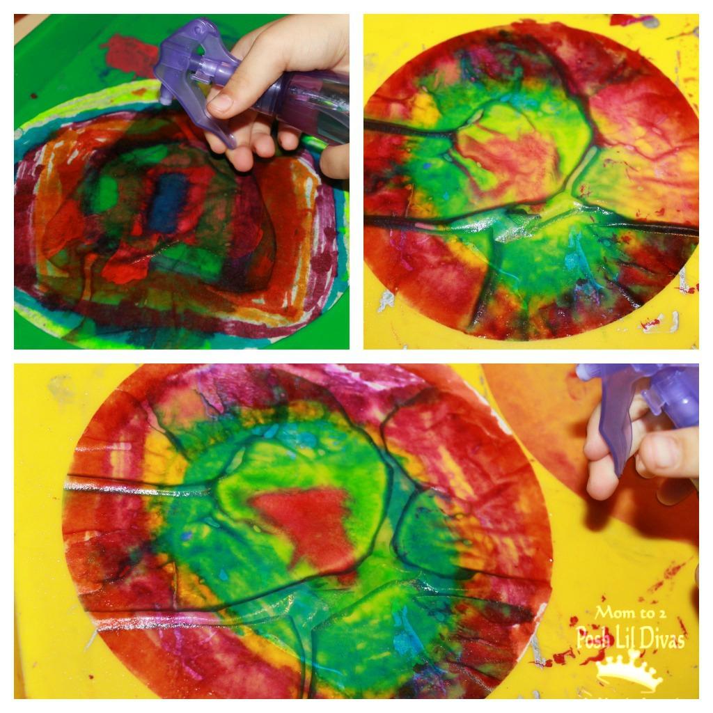 Mom to 2 Posh Lil Divas: Kid\'s Craft: Coffee Filter Heart Art for ...