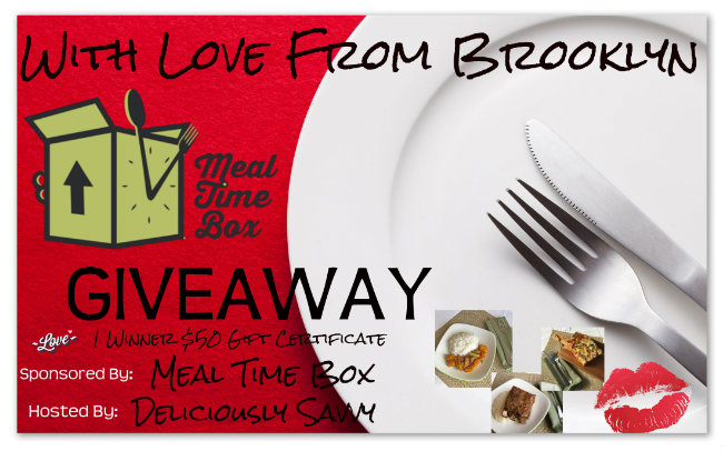 With Love From Brooklyn Mealtime Giveaway