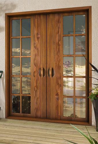 Fotos y dise os de puertas estilo franc s Puertas metalicas usadas
