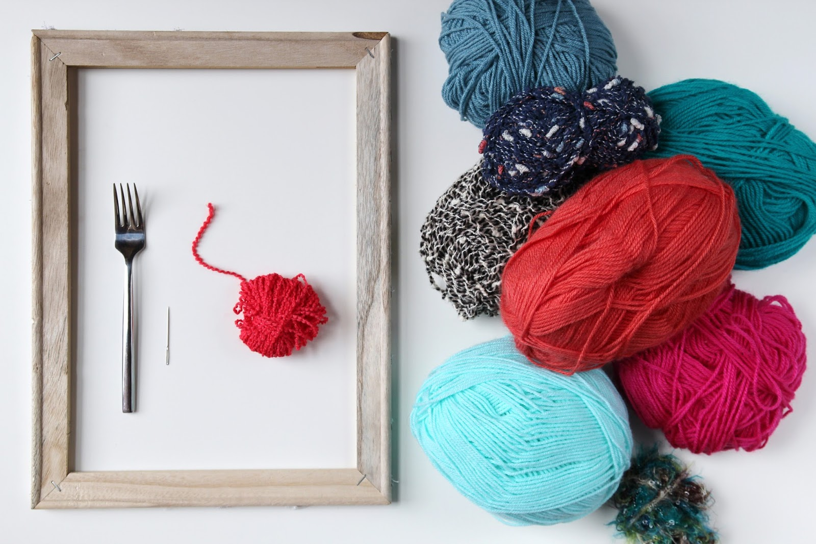 Things you'll need to make  Diy Woven Wall Hanging.