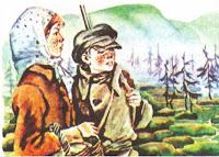 illjustracii-rasskaz-Kladovaja-solnca-Prishvin