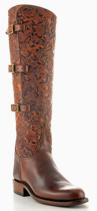 Adorable Pure Hard Leather Long Boot for Ladies