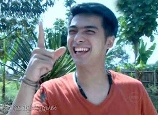 Foto Ricky Harun Pangeran di Pesantren
