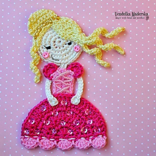 Crochet princess pattern