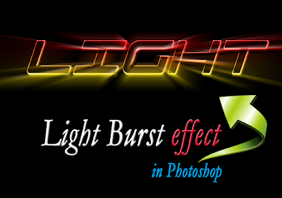 Light-Burst-text-effect-in-Photoshop
