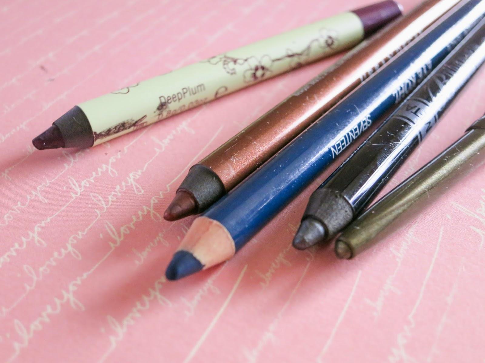 autumn makeup eyeliners