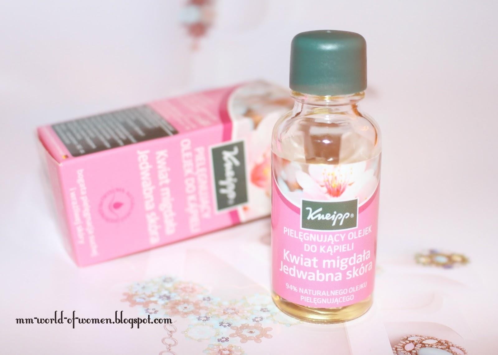 Kneipp - pielęgnujący olejek do kąpieli Kwiat Migdała