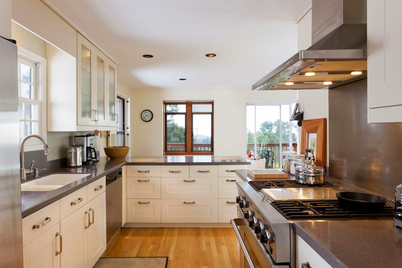 tipe membuat model desain interior dapur rumah minimalis