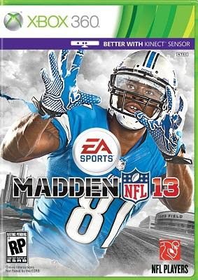 Download Madden 13 - XBOX 360 Game Jumbofiles/Billionuploads/Putlocker/Filecloud/Rapidshare/Direct/More Link