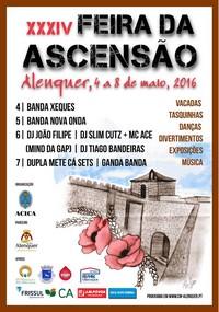 Alenquer- XXXIV Feira da Ascensão- 4 a 8 Maio
