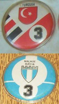 A Turquia e o sueco Malmö FF tido como o mais raro da Champion/USA Sports