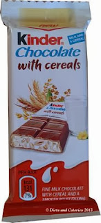 Kinder Milk Chocolate with Cereals
