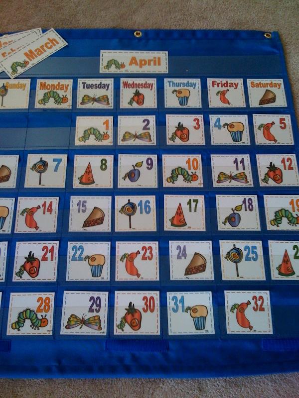 Kindergarten Calendar S S : Hungry caterpillar calendar preschool printables