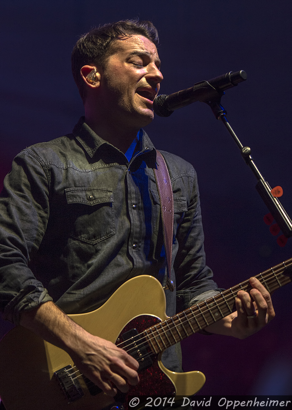 Marc Roberge with O.A.R.