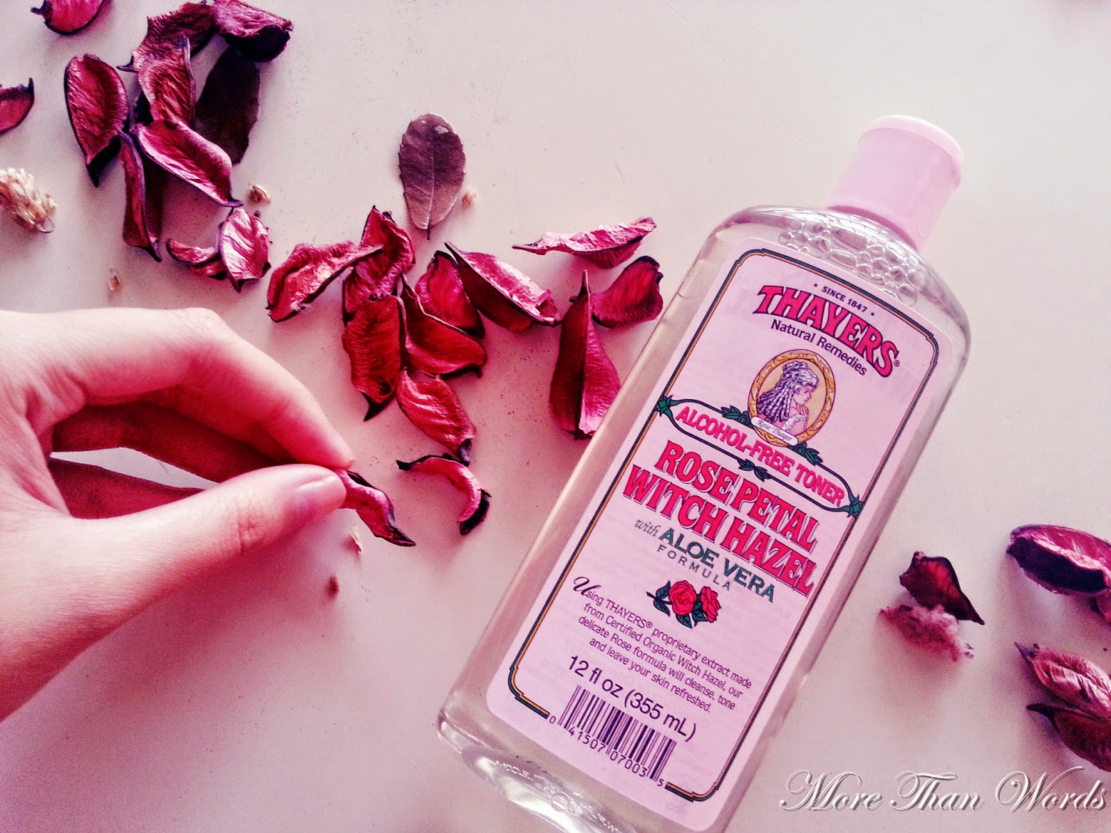 More Than Words: [BEAUTY REVIEW]   Thayers   Alcohol-free Rose ...