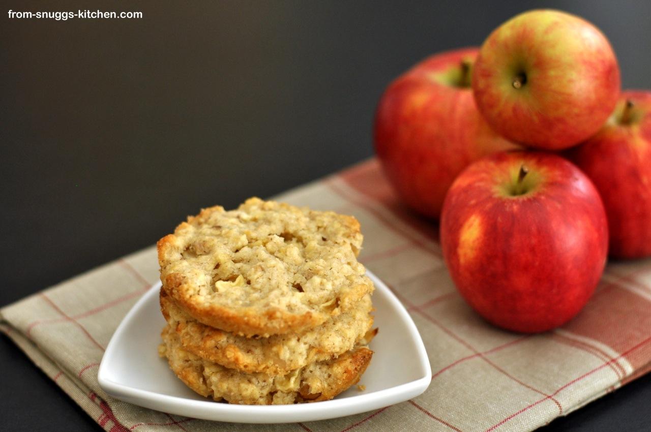 Apfel-Walnuss-Cookies