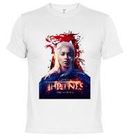 camiseta daenerys targaryen khaleesi fire and blood - Juego de Tronos en los siete reinos