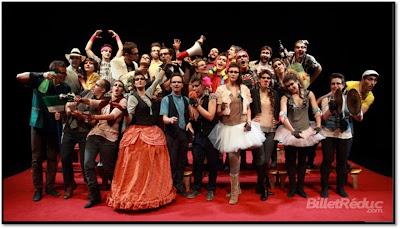 Troupe Operetta opéra comique moderne Théaâtre Antoine Paris 10ème