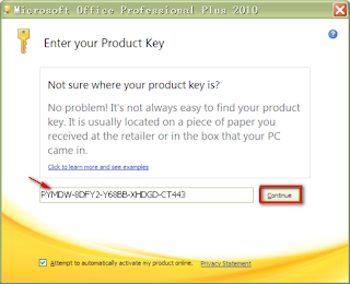 to Change Product Key of Microsoft Office 2010 ~ Microsoft Word 2010