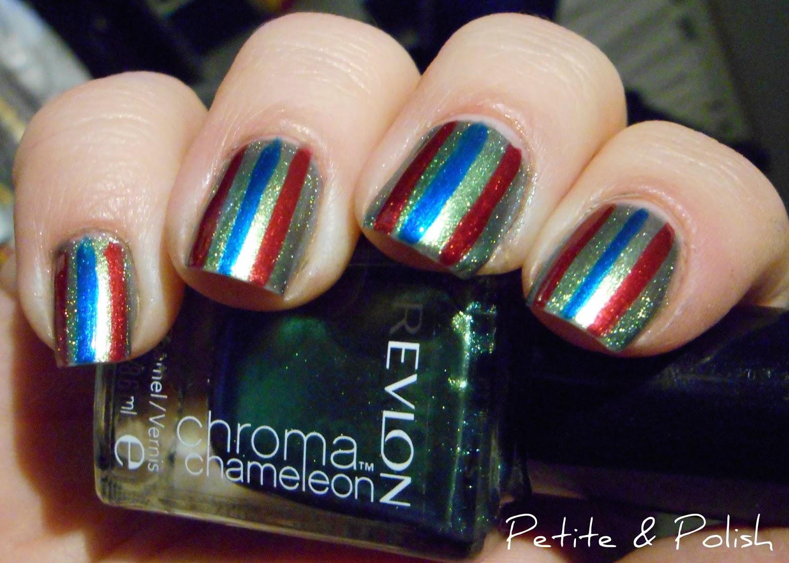 Petite & Polish: Nail Art A-Go-Go, Day 2: Jewel Tones