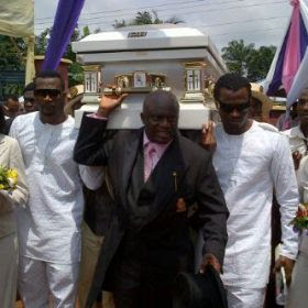psquare mum burial photos