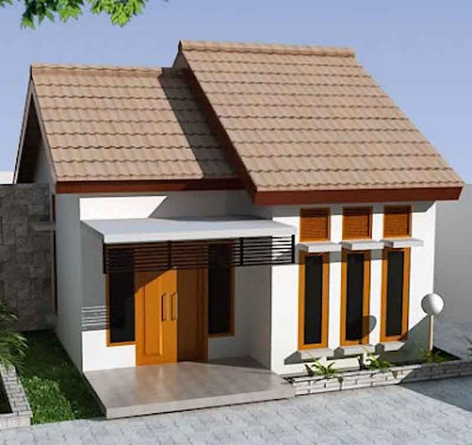 bentuk rumah minimalis yang menarik