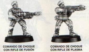 Comandos de choque de la Guardia Imperial