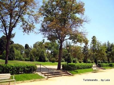 Passeig des Til-lers, parque ciudadela barcelona