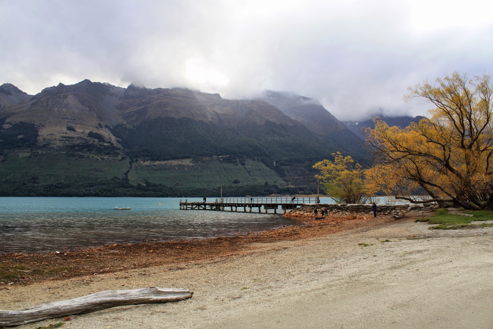 Lake Wakatipu from Glenorchy.