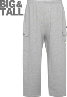 Big and Tall Green Bay Packers Fleece Sweatpants