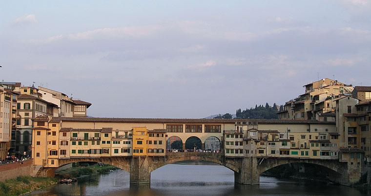 Immagine del ponte vecchio di Firenze
