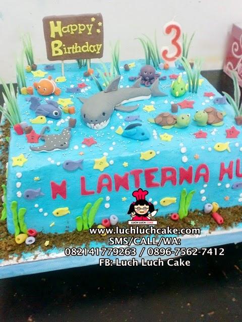 Kue Tart Tema Laut Daerah Surabaya - Sidoarjo