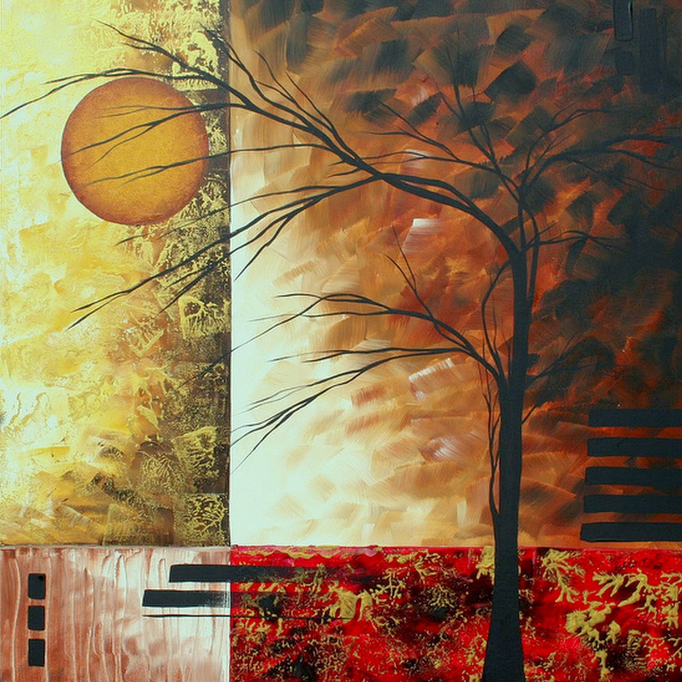 Pinturas cuadros lienzos arte minimalista pinturas en - Pinturas acrilicas modernas ...